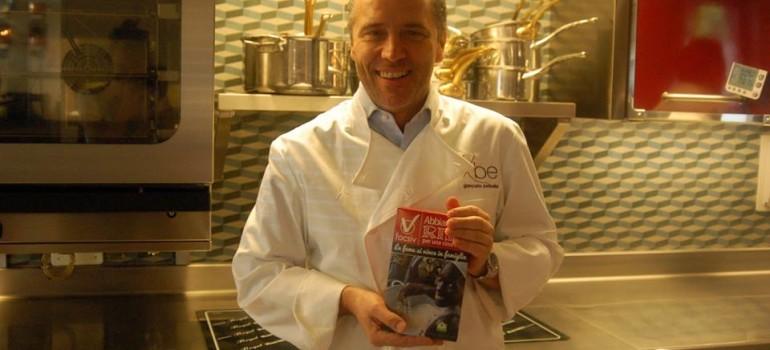 Lo Chef bistellato, Giancarlo Perbellini, aderisce alla nostra campagna.