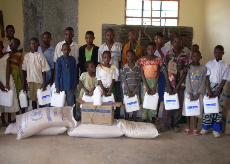 Cmsr – Supporto alimentary agli orfani da HIV