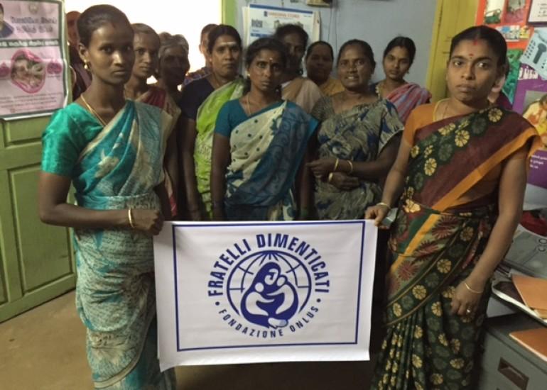 Fratelli Dimenticati – Attività per l'auto sostentamento e l'emancipazione femminile in India