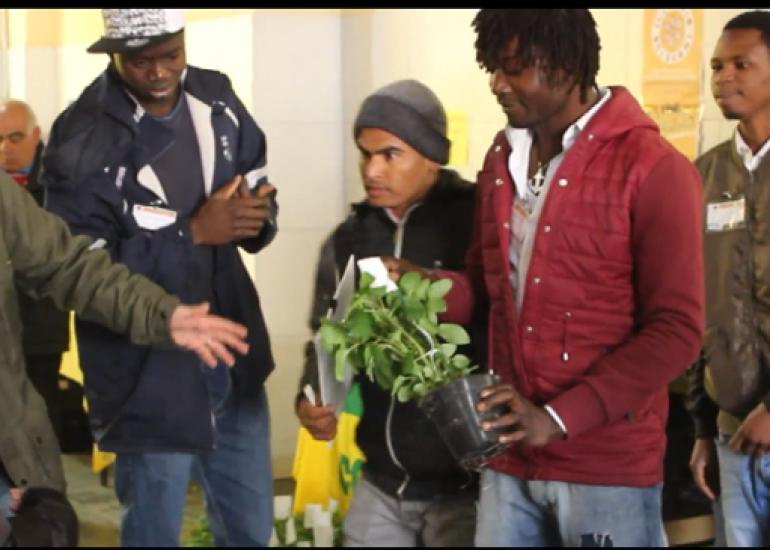 Coldiretti – Villaggio solidale: accoglienza e lavoro in agricoltura contro il caporalato in Puglia