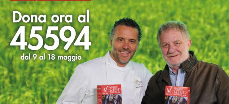 Al via la campagna di raccolta fondi Abbiamo RISO per una cosa seria, a sostegno degli agricoltori in Italia e nel mondo.